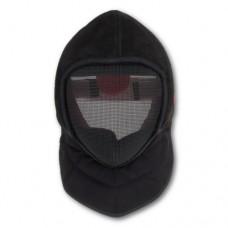 Masca de sabie 1600N pentru antrenor din INOX cu husa de piele
