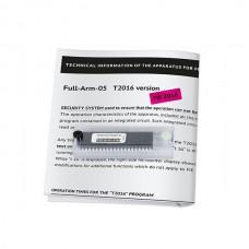 Circuit integrat pentru aparat scrima, vers T2016
